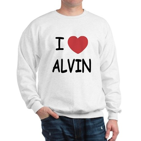 I heart Alvin Sweatshirt