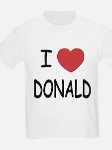 I heart Donald T-Shirt