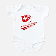 Swiss soccer Infant Bodysuit
