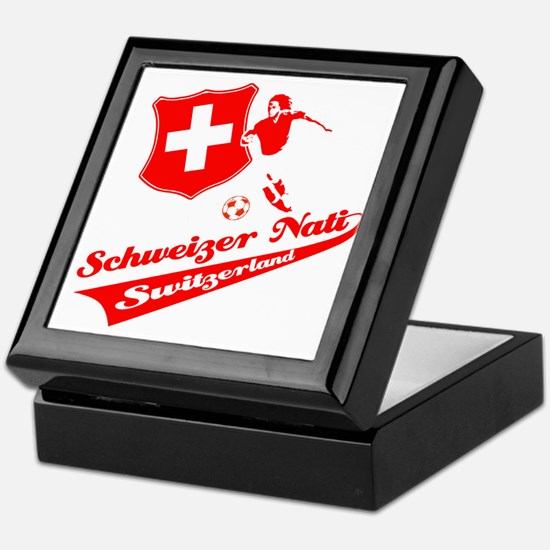 Swiss soccer Keepsake Box