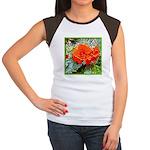 FLOWER Women's Cap Sleeve T-Shirt