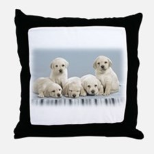 Cute Puppies Throw Pillow