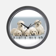 Unique Puppy Wall Clock