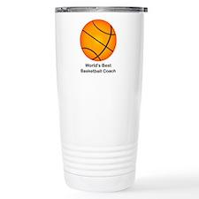 World's Best Basketball Coach Thermos Mug