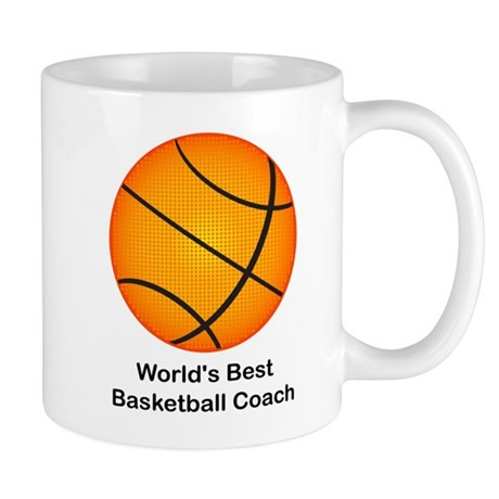 World's Best Basketball Coach Mug