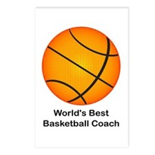 World's Best Basketball Coach Postcards (Package o