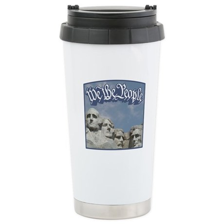 WTP / Rushmore / Blue Stainless Steel Travel Mug