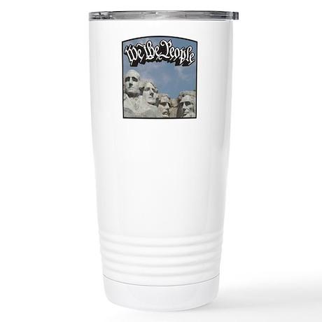 WTP / Rushmore / Black Stainless Steel Travel Mug