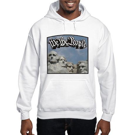 WTP / Rushmore / Black Hooded Sweatshirt