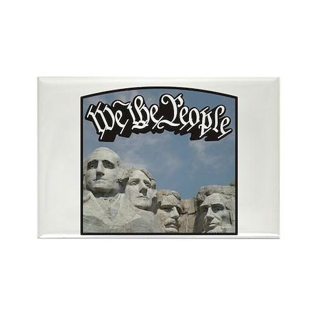 WTP / Rushmore / Black Rectangle Magnet (100 pack)