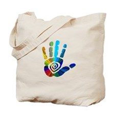 Massage Hand Tote Bag