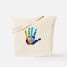 Massage Hand Tote Bag
