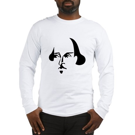 Simple Shakespeare Long Sleeve T-Shirt