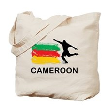 Stylish Cameroon Football Tote Bag