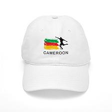 Stylish Cameroon Football Baseball Cap