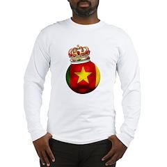 Cameroon Football Champion Long Sleeve T-Shirt