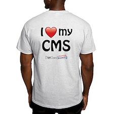 I Love My CMS T-Shirt
