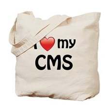 I Love My CMS Tote Bag