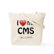 I Love My CMS Tote Bag