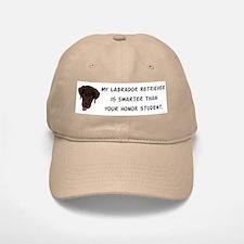 Smart Labrador Retriever Baseball Baseball Cap