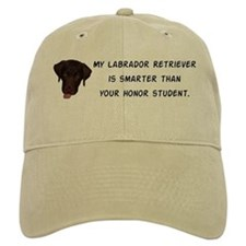 Smart Labrador Retriever Baseball Cap