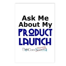 Ask Me About My Product Launch Postcards (Package