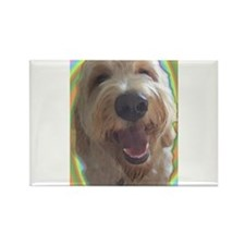 Dreamy Dog Rectangle Magnet
