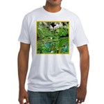 LILY PADS Fitted T-Shirt