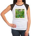 LILY PADS Women's Cap Sleeve T-Shirt