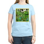 LILY PADS Women's Pink T-Shirt
