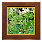 LILY PADS Framed Tile