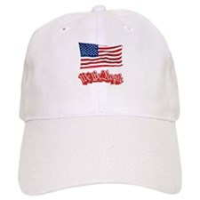 We The People w/Flag Baseball Cap