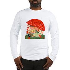 Vintage Valentine Long Sleeve T-Shirt