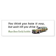 Wagon Queen Family Truckster bumper sticker