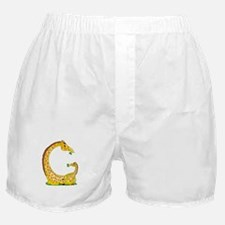 Animal Alphabet Giraffe Boxer Shorts