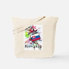 Flower Slovakia Tote Bag