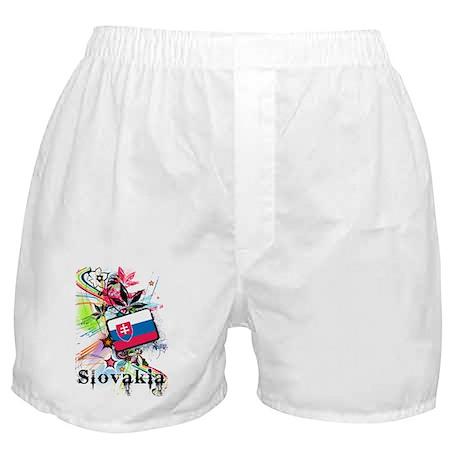 Flower Slovakia Boxer Shorts