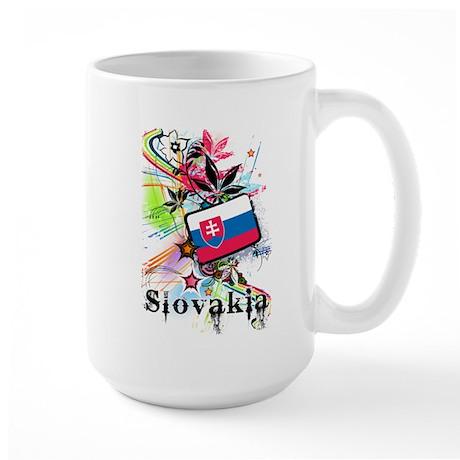 Flower Slovakia Large Mug
