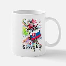 Flower Slovakia Mug