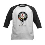 Cormack Clan Crest Badge Kids Baseball Jersey