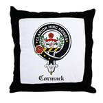 Cormack Clan Crest Badge Throw Pillow