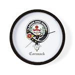 Cormack Clan Crest Badge Wall Clock