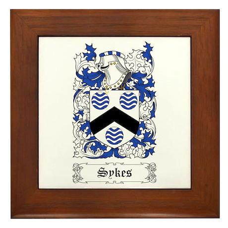Sykes Framed Tile