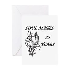 SOUL MATES 25 copy Greeting Cards