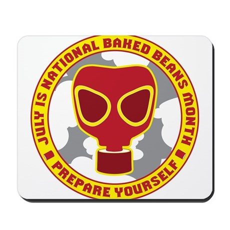 National Baked Beans Month Mousepad