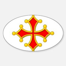 Cross of Toulouse Decal