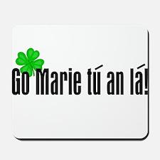 Congratulations (in Irish) Mousepad