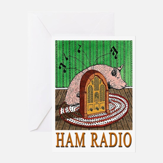 """HAM RADIO"" Greeting Card"
