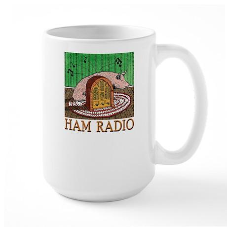 """HAM RADIO"" Large Mug"