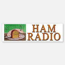 """HAM RADIO"" Bumper Bumper Sticker"